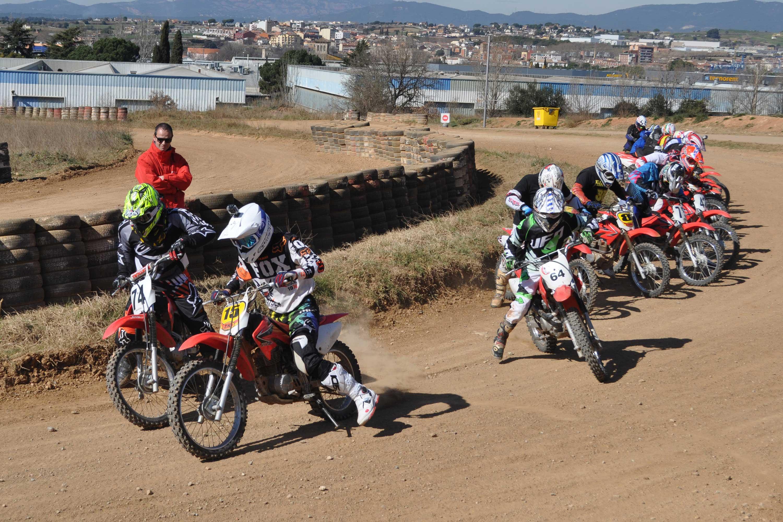 Russian motorcycle rider Makar Yurchenko MotoZK TT Circuit de Catalunya