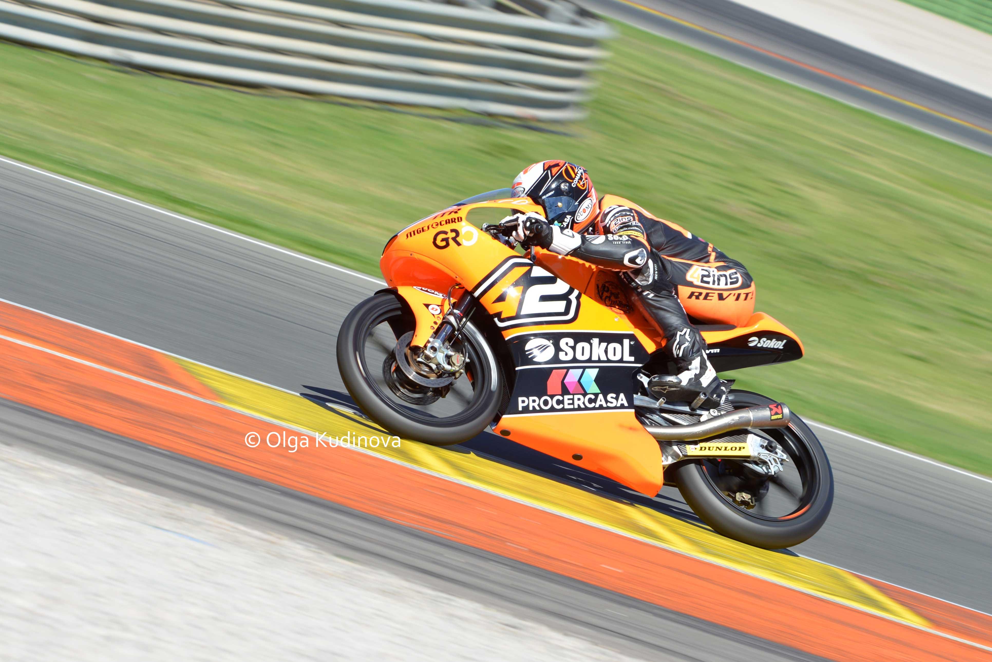 Makar Yurchenko 42 Motorsport Alex Rins / Макар Юрченко, мотоцикл ктм
