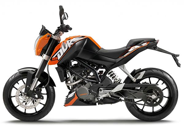 Мотоцикл KTM Duke 125
