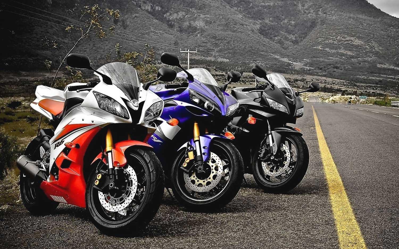 Мотоцикл Yamaha R6, гоночные литровые мотоциклы