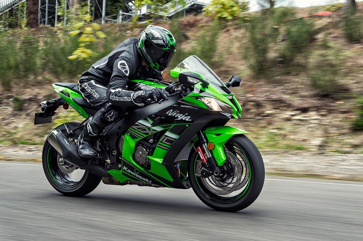 Мотоцикл Kawasaki Ninja ZX-10R, литровый мотоцикл