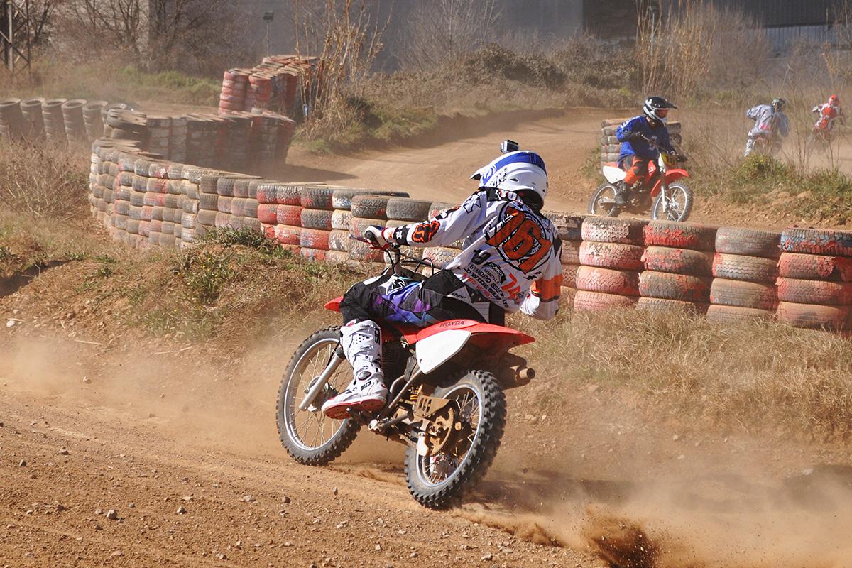 Четырехтактный мотоцикл Honda CRF100F
