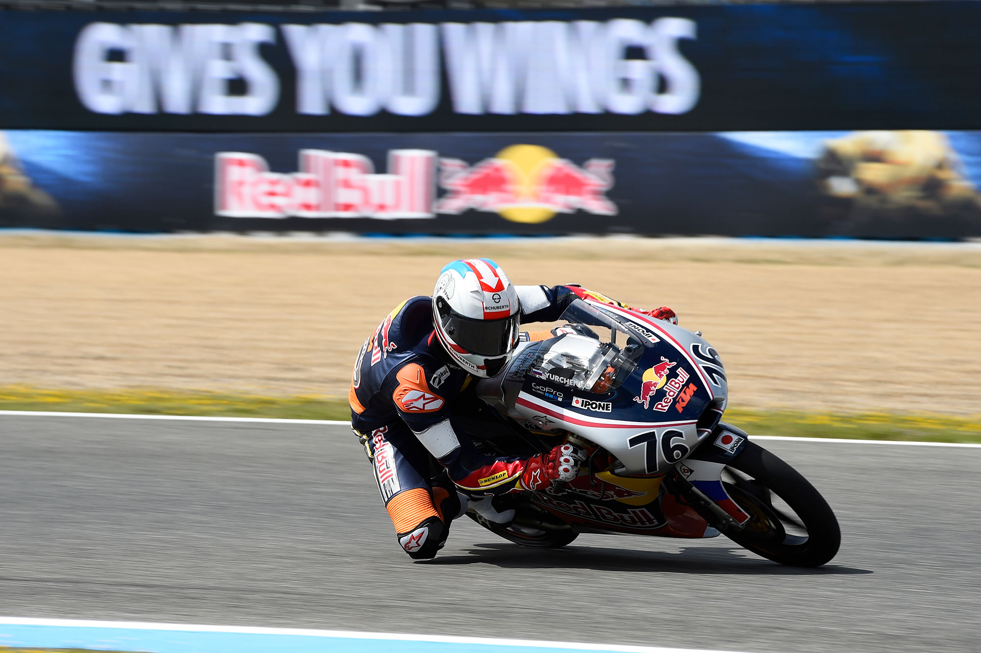 Makar yurchenko for Red Bull MotoGP Rookies Cup