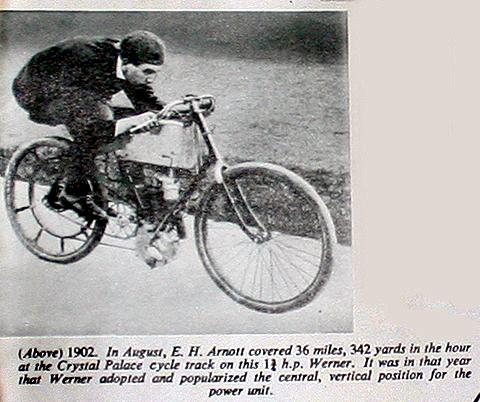 Arnott for Werner motorcycle