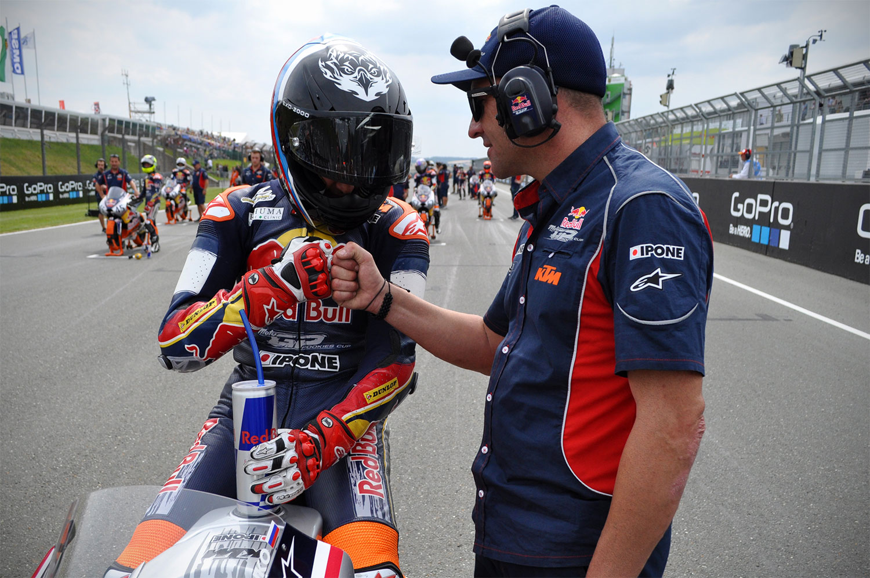 Santi at Red Bull MotoGP Rookies Cup