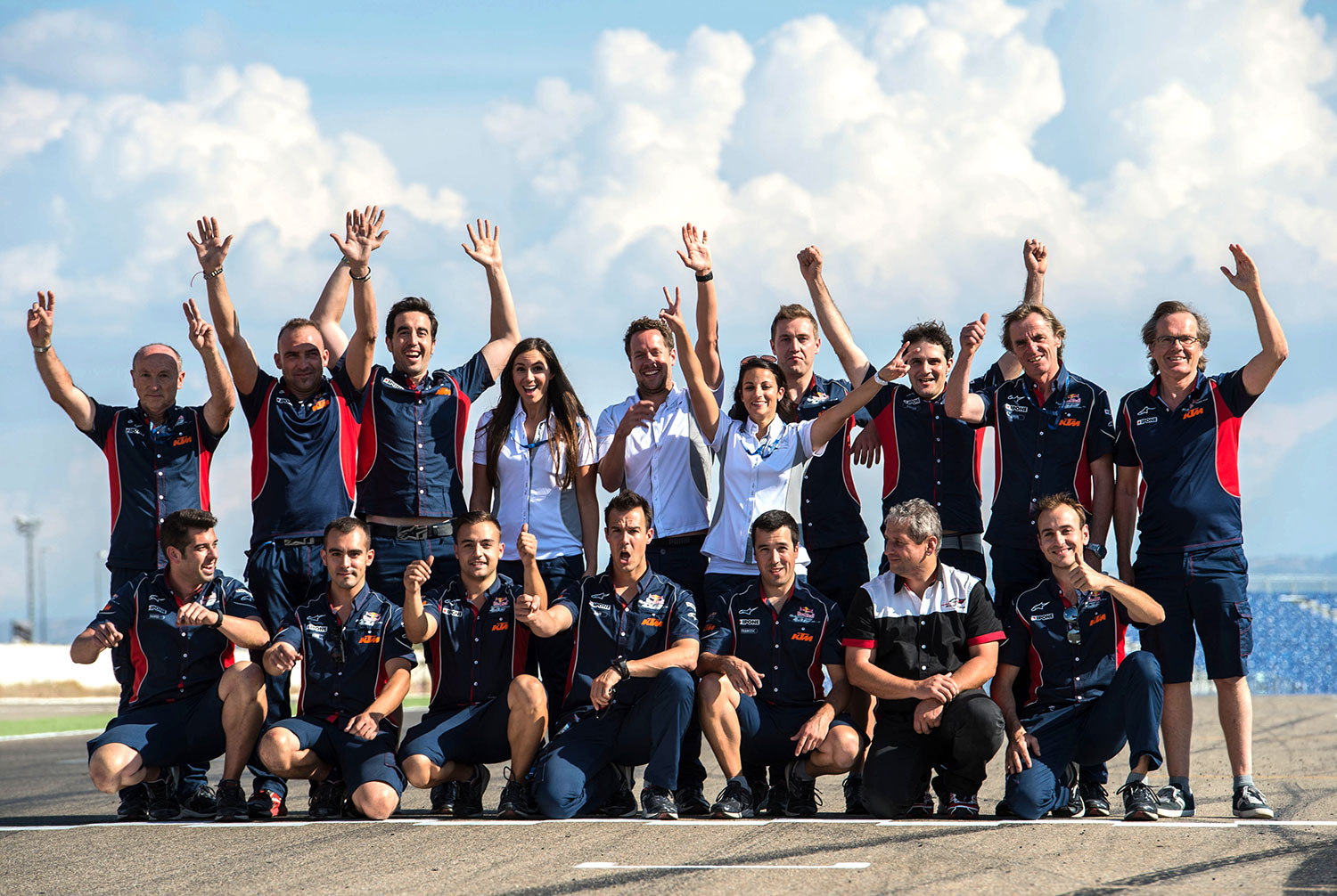 Red Bull MotoGp Rookies Cup team