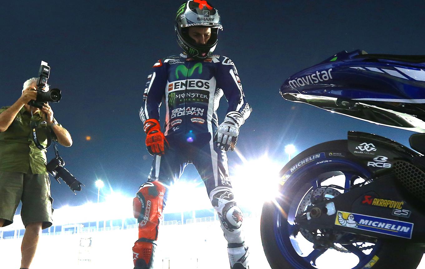 Хорхе Лоренцо Losail Circuit Qatar MotoGP