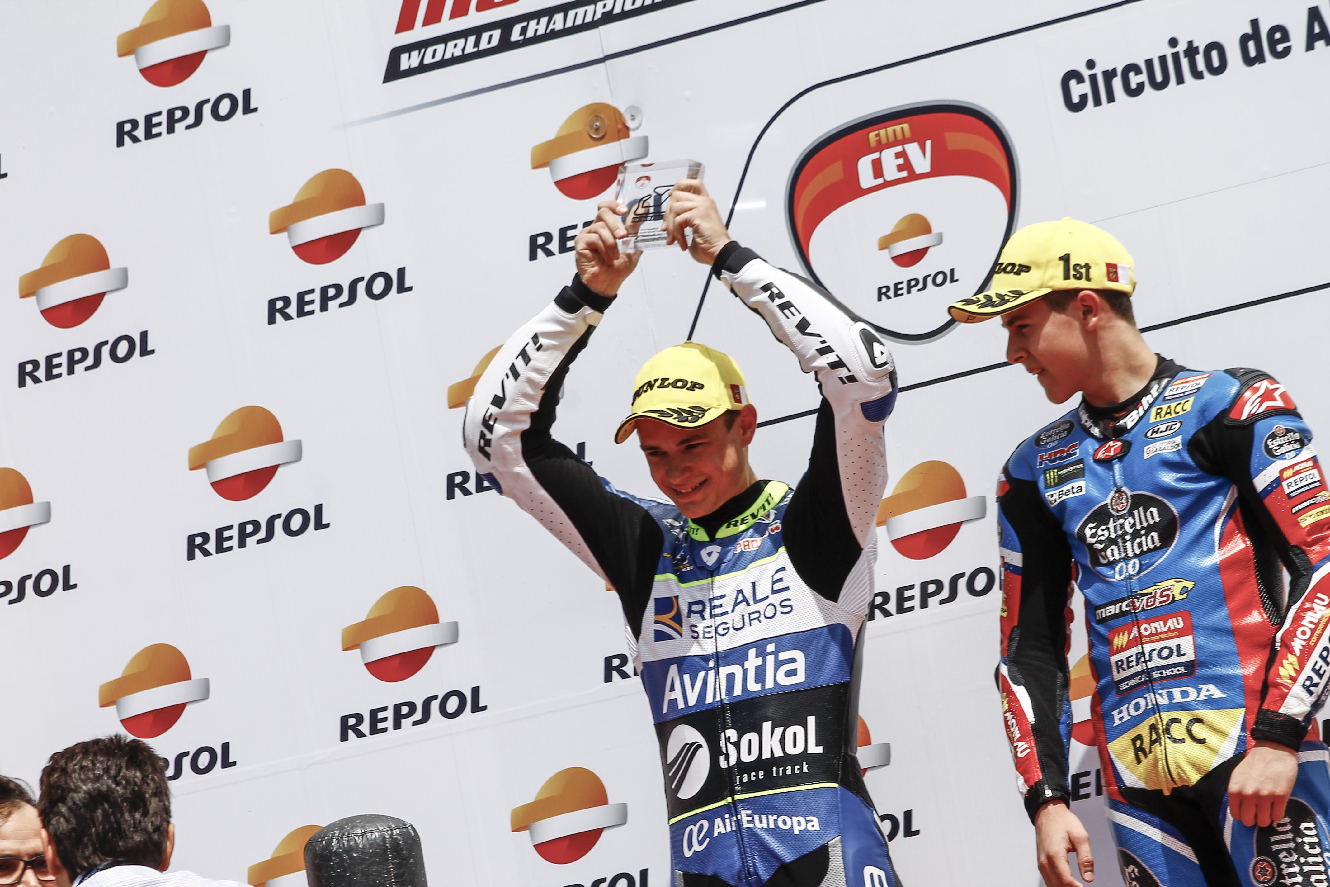 Makar Yurchenko, FIM Junior Moto3, Albacete, Makar Yurchenko #76, photgrapher MANU TORMO (23)