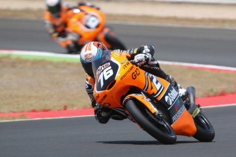 FIM Junior Moto3 Championship, 2016