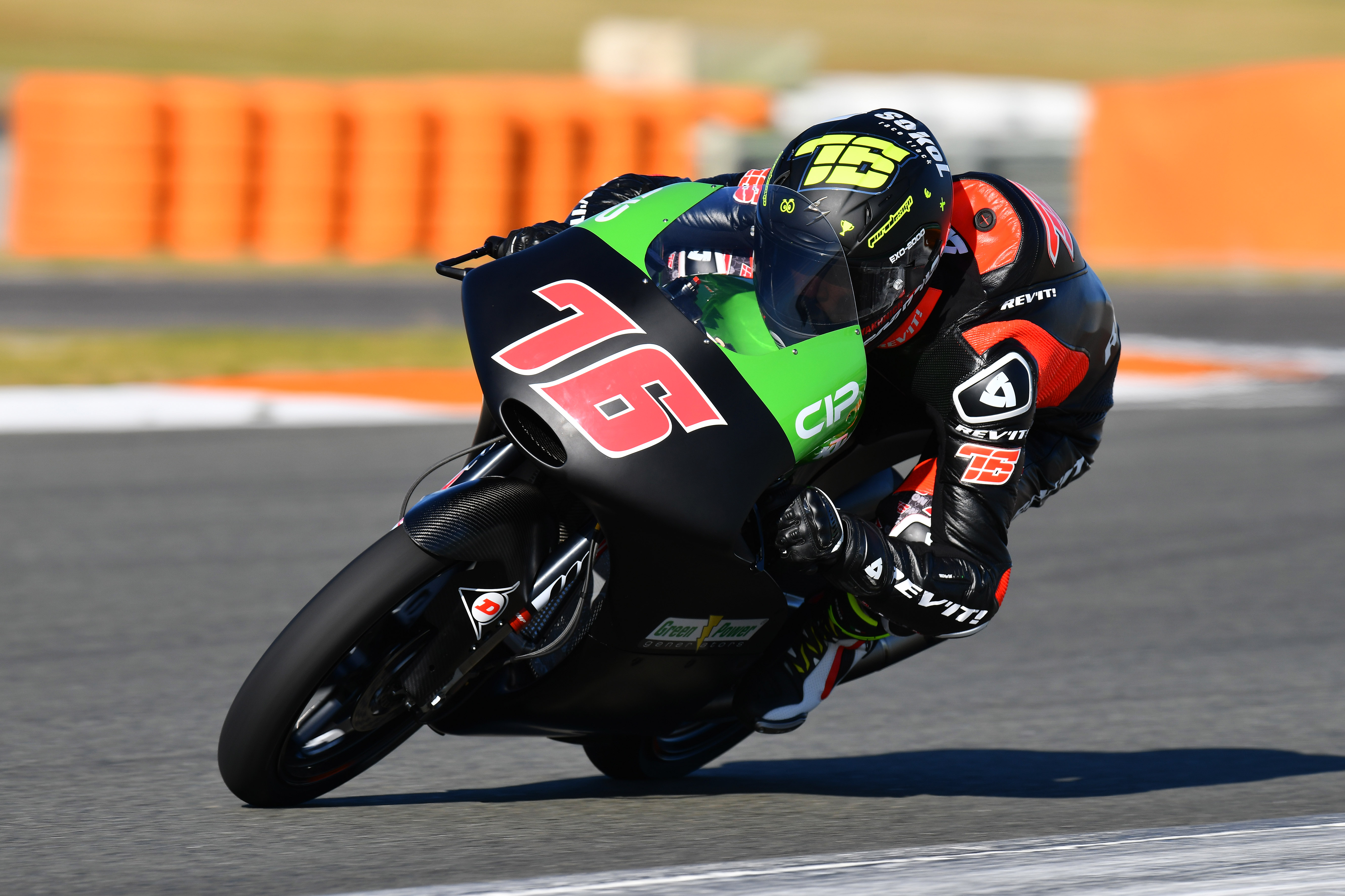 Makar Yurchenko KAZ CIP Green Power KTM Moto3  Test Valencia 2018 (Circuit Valencia) 06-08.02.2018