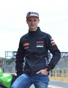 Makar Yurchenko, moto3 pilot